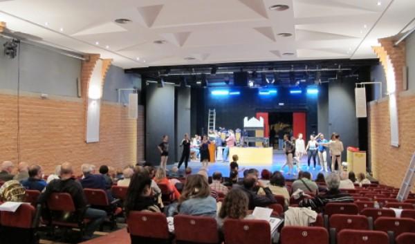 Ensayos en el Auditorio Pedro Mercader de Benicarló