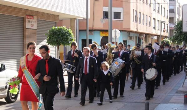 Desfile nuevos músicos 051111