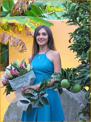 La Musa de la Música 2017 es Clara Torres Mañá, y su instrumento es el clarinete.